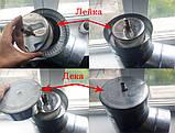 Труба теплоизоляционная  н/оц  D120/180/1,0 мм, фото 7