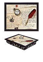 Поднос с подушкой Рукопись (380-9713028)