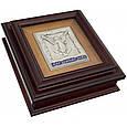"""Ключница настенная деревянная с иконой """"Мир вашему дому"""", фото 2"""