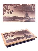 Поднос с подушкой Париж (380-9711058)