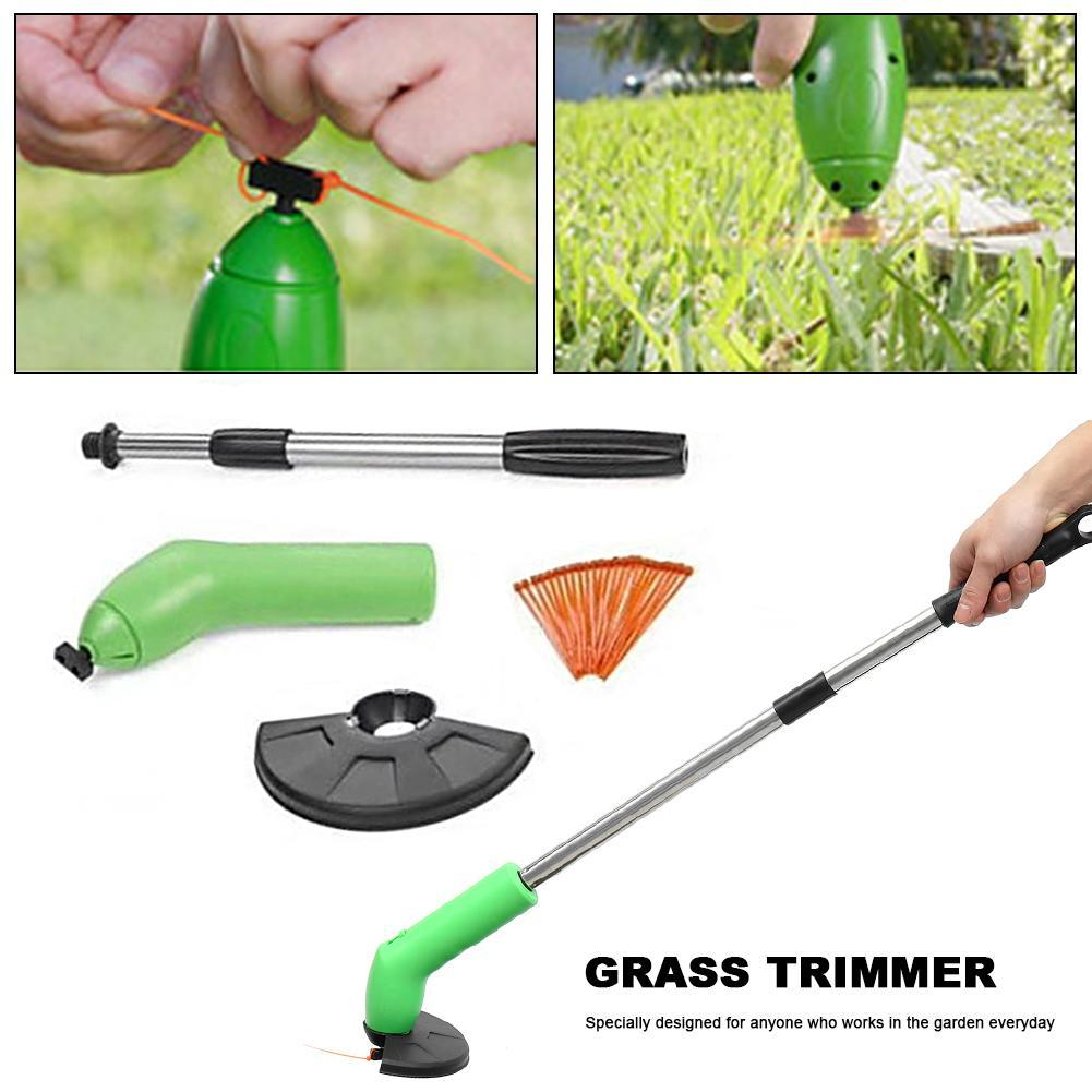 Триммер-газонокосилка для сада Zip Trim, на батарейках, фото 4