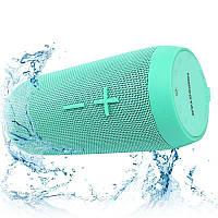 Портативная акустическая Bluetooth колонка Hopestar P7 зеленая - 140055
