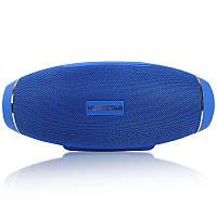 Портативная акустическая стерео колонка H20 синяя - 140075