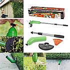 Портативная триммер-газонокосилка для сада Zip Trim, на батарейках, фото 6