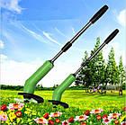 Портативная триммер-газонокосилка для сада Zip Trim, на батарейках, фото 7