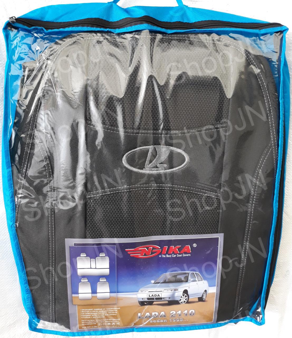 Авто чехлы Lada 2110 1995- sedan COPER Nika