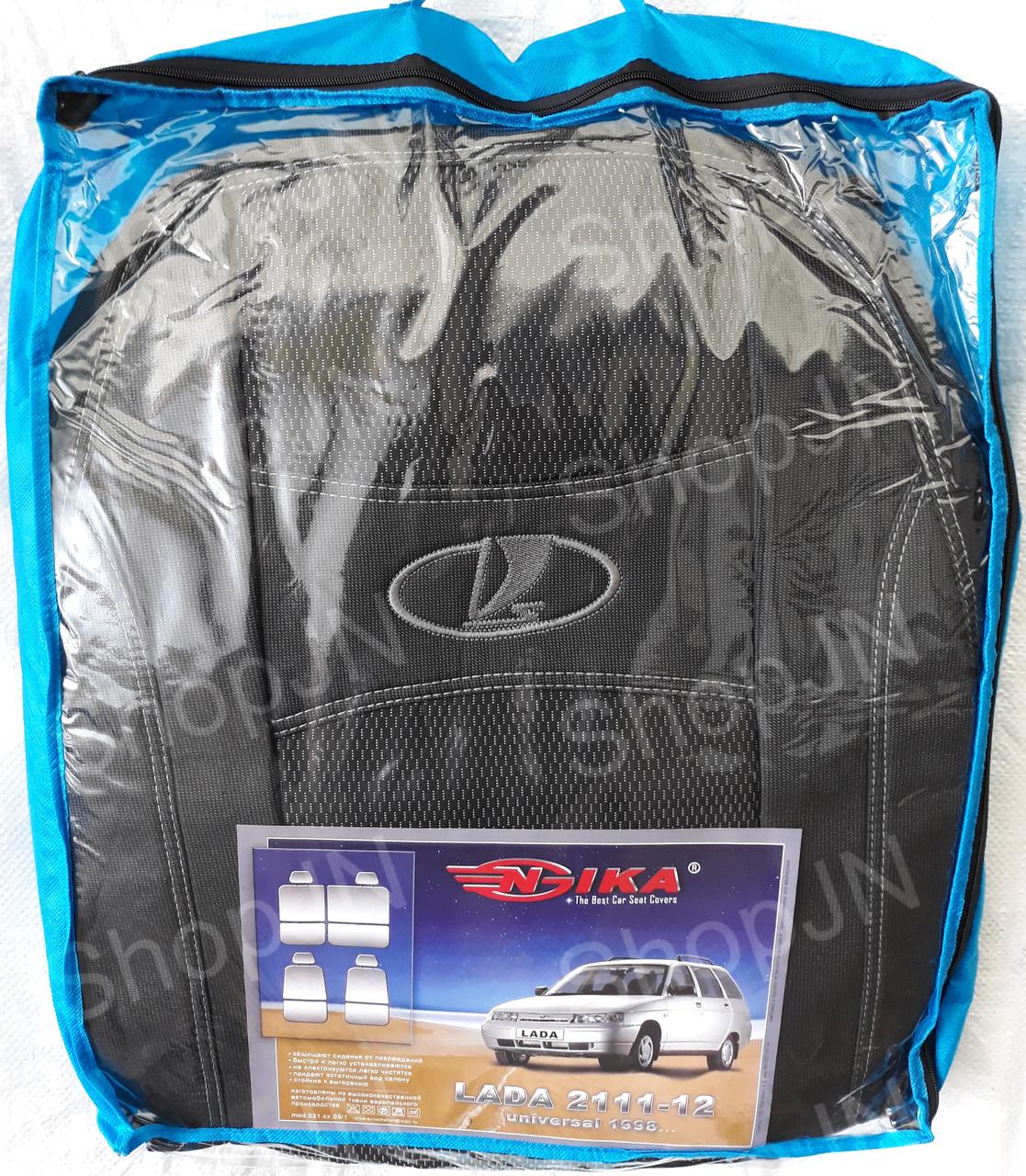 Авто чохли Lada 2111-2112 1998 - універсальний Nika