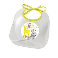 Нагрудник Beaba Bunny серый, арт. 913405