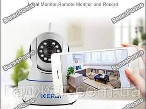 Поворотная Wi-Fi Ip-Камера Kerui. Камера и сигнализация в одном устройстве