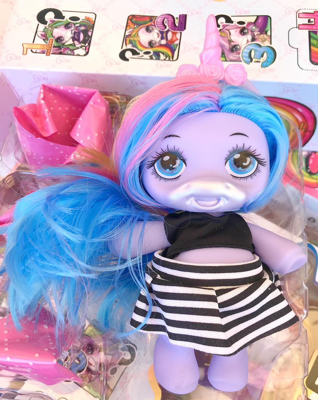 Кукла Poopsie Unicorn Пупси / 4 сюрприза / пахнет