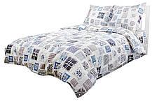 Комплект постельного белья Moorvin Евро Сатин 240х215 см (SAP_317_0184)