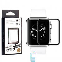 Защитное стекло Full Glue 3-4D Glass Apple Watch 40mm