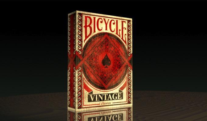 Карты игральные   Bicycle Vintage Classic