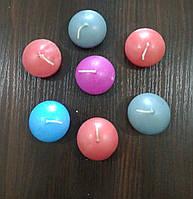 Свечи декоративные, разноцветные, 7 штук, фото 1