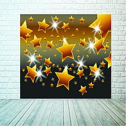 Баннер звезды 2х2м