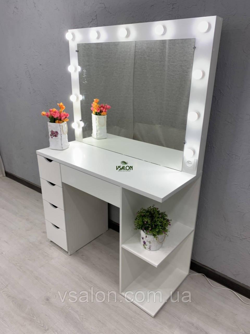 Стол для макияжа с подсветкой V467