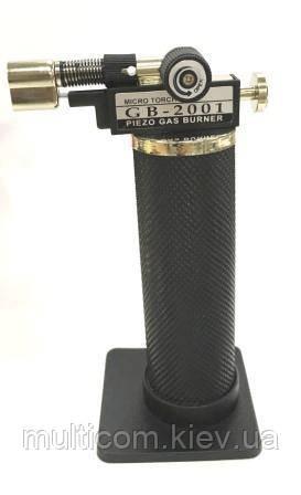 13-05-032. Газовая горелка-паяльник EX-018, пьезоподжиг, 1300*C
