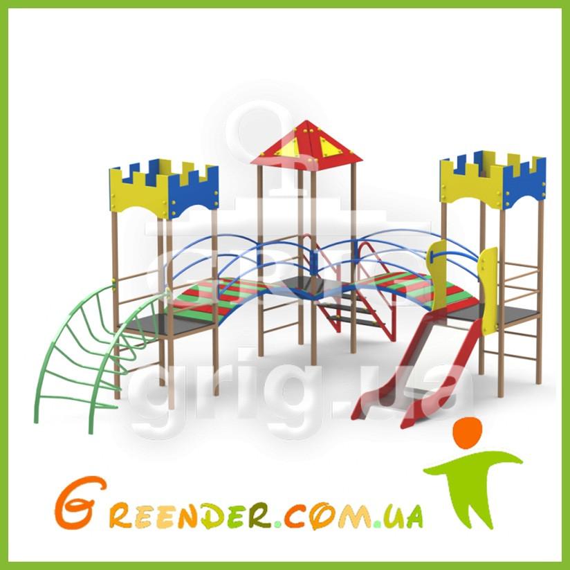 """Игровой комплекс """"Радуга 2"""" спортивные площадки для детей"""