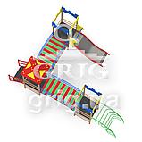 """Игровой комплекс """"Радуга 2"""" спортивные площадки для детей, фото 3"""