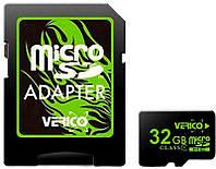 Карта памяти Verico microSDHC Class 4 SD adapter 32 Gb #I/S