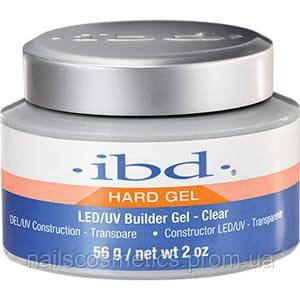 IBD LED/UV Builder Clear Gel,  56 г. - гель конструирующий прозрачный