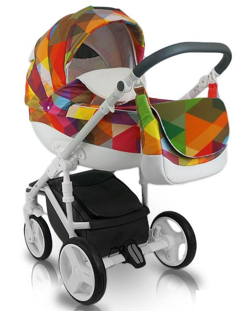 Дитяча коляска BEXA Cube Amo CU1 Різнобарвна (3072018002)