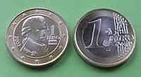 Австрия 1 евро 2002 г. UNC.