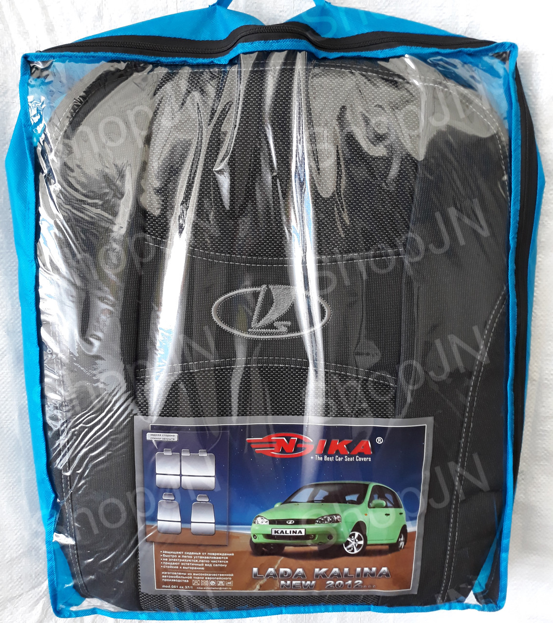 Авто чехлы Lada Калина 2012- Nika