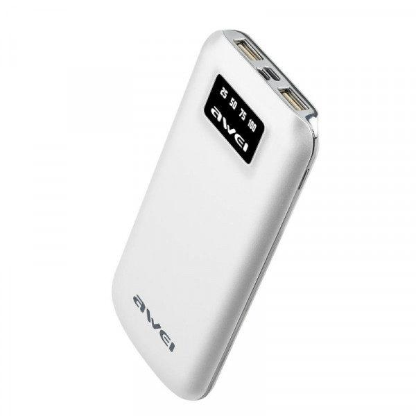 Power bank Awei P50K 10000 mAh White (77703196_1)