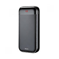 Power Bank Baseus Mini Cu Digital Display 20000mAh, Black (PPALL-CKU01), фото 1