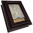 """Ключниця настінна дерев'яна з посрібленим образом Божої Матері """"Покрова Пресвятої Богородиці"""", фото 2"""