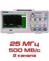 Цифровой осциллограф, 25 МГц