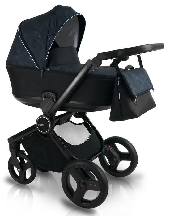 Дитяча коляска BEXA FRESH FR2 Чорна (3072018026)