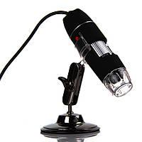 Портативный USB микроскоп (цифровой) 500x Black