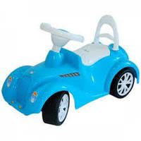 Машина-каталка Ретро, голубая Орион (900)