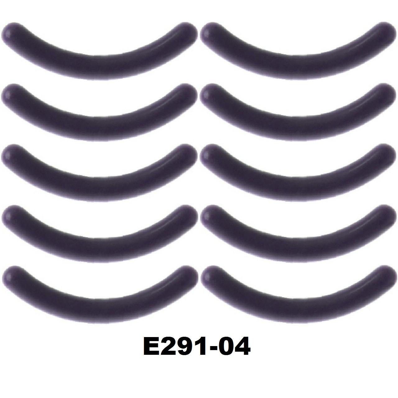 Сменные резинки в щипцы для завивки ресниц (15 видов) Силикон 10 шт, Серый