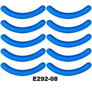 Сменные резинки в щипцы для завивки ресниц (15 видов) Силикон 10 шт, Голубой