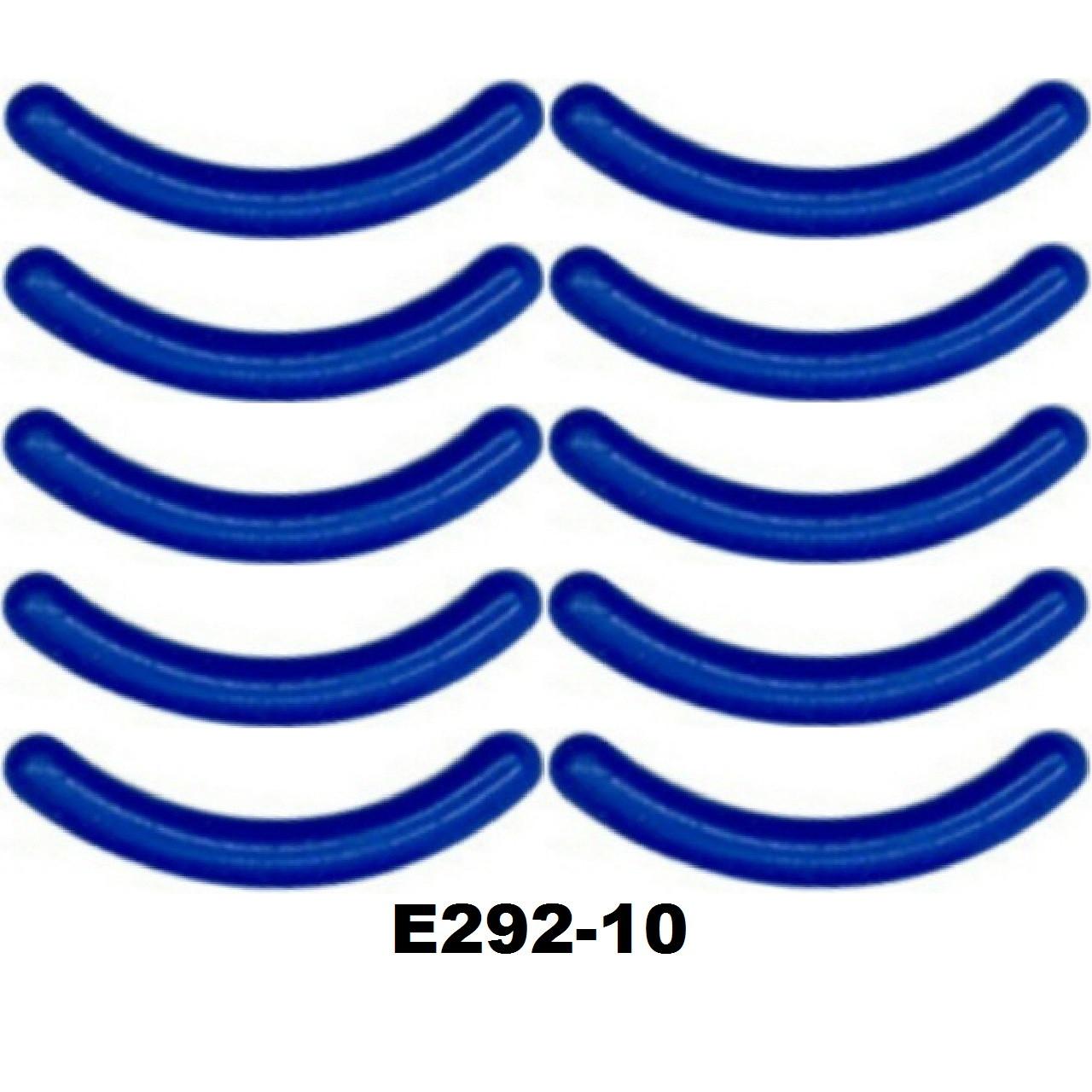 Сменные резинки в щипцы для завивки ресниц (15 видов) Силикон 10 шт, Синий