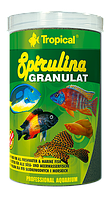 Сухой корм Tropical Spirulina Granulat для рыб 60493 /60433, 100ml /60g