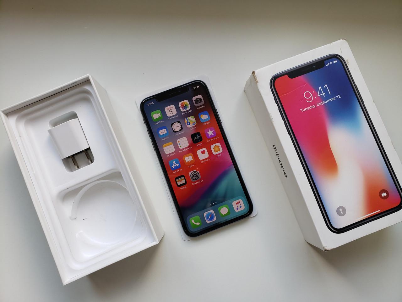 Apple Iphone X 64Gb Space Gray Оригинал!