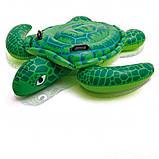 ✅Дитячий надувний пліт для катання Intex 57524 «Черепаха», 150 х 127 см, фото 2