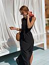 Летнее легкое платье без рукава длинное с поясом 73plt3004, фото 7