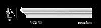 Молдинг для стен, гладкий, Classic Home 4-0140, лепной декор из полиуретана