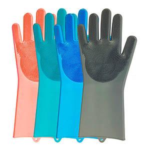 Перчатки для мытья посуды Super Gloves 21 в пакете 150141