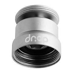 💧Поворотный 360° адаптер DROP CL360-MT, внешняя резьба 24мм, для изменения угла потока воды, цвет матовый