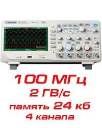 Цифровой осциллограф, 100 МГц, 4 канала