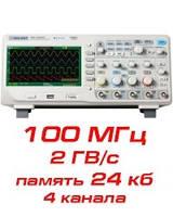 Цифровой осциллограф, 100 МГц, 4 канала, фото 1