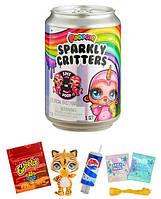 Игровой набор - Питомец с сюрпризом слайм в банке Poopsie Sparkly Critters That Magically Poop Or Spit Slime