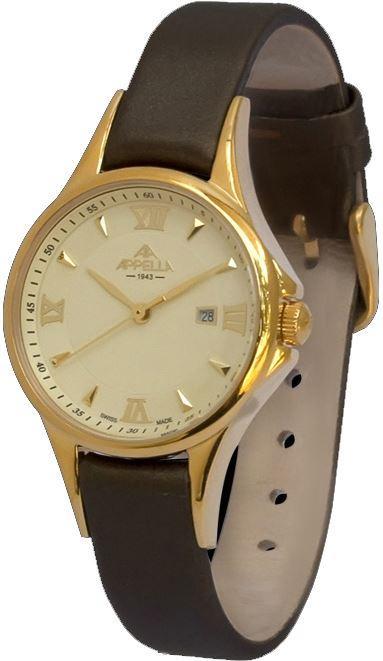 Женские часы Appella A-4344-1012 Коричневый