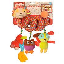 Подвеска - спираль Лев для малышей на коляску, кроватку, игрушки плюш, прорезыватель,SKK-019
